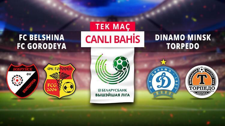 Belarus Ligi'nde 2 TEK MAÇ, CANLI BAHİS arka arkaya! Banko iddaa tahmini burada...