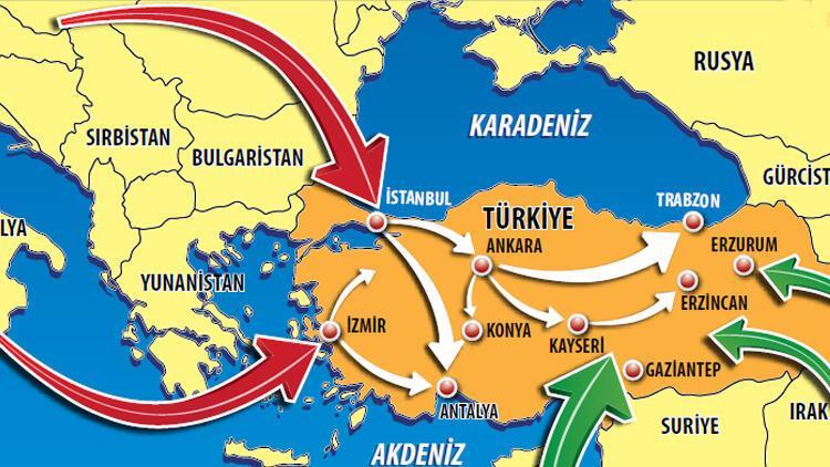 Son dakika haberi: Virüs işte böyle yayıldı! Koronavirüsün Türkiye seyahati