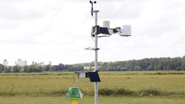 Dijital tarım istasyonu ile tarlayı uzaktan takip mümkün