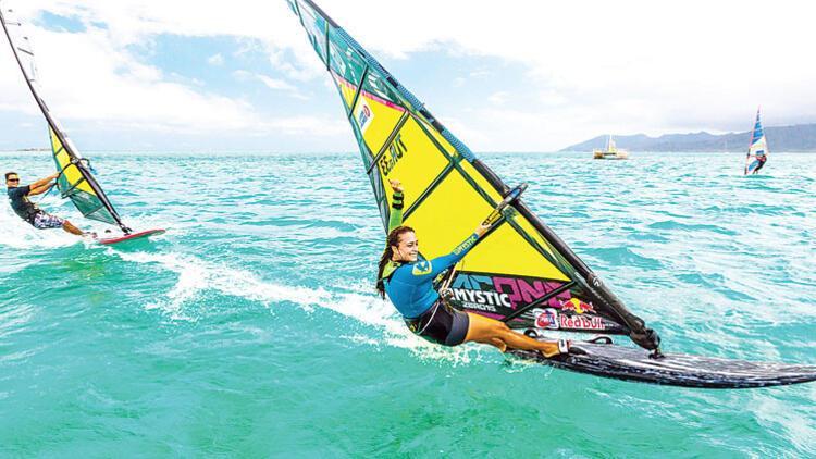 Rüzgârın kızı Lena: Hedefim 2020'de dünya şampiyonu olmak