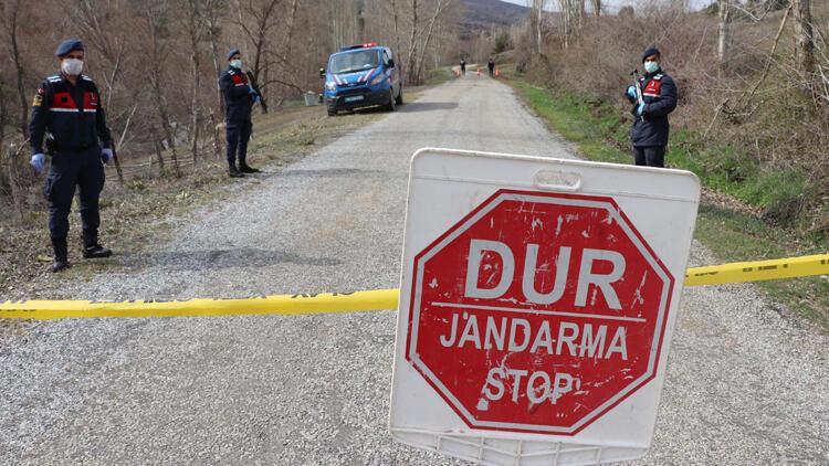Yozgat'ta 2 köyde corona virüs karantina uygulaması devam ediyor