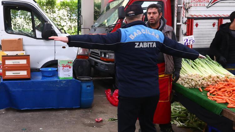 İstanbul'da pazar giriş ve çıkışları kontrol altında