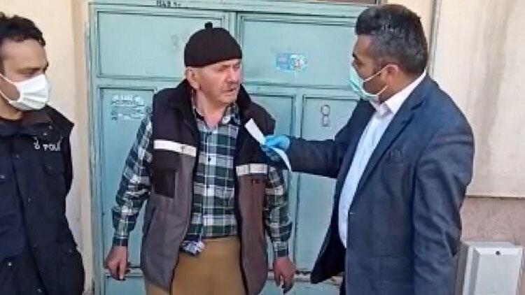 Emekli maaşının 500 lirasını kampanyaya bağışladı