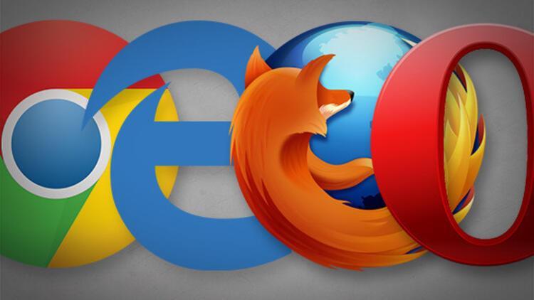 Dünyanın en çok kullanılan web tarayıcıları belli oldu