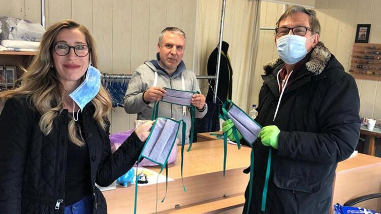 Oberhausen Türk Birliği'nden hastahanelere 2 bin maske!