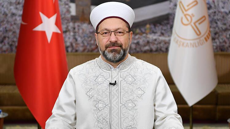 """Diyanet İşleri Başkanı Erbaş'tan """"Vefa Koordinasyon Grupları""""na destek açıklaması"""