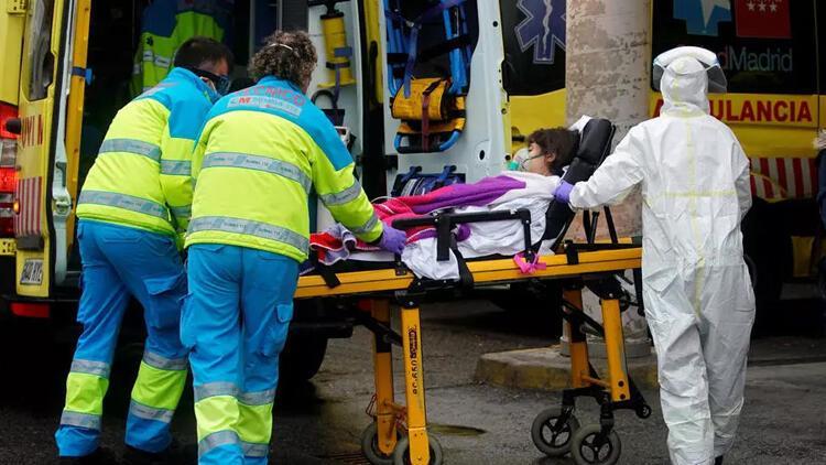 Son dakika haberi: İspanya'da COVID-19'dan 1 günde 757 kişi öldü