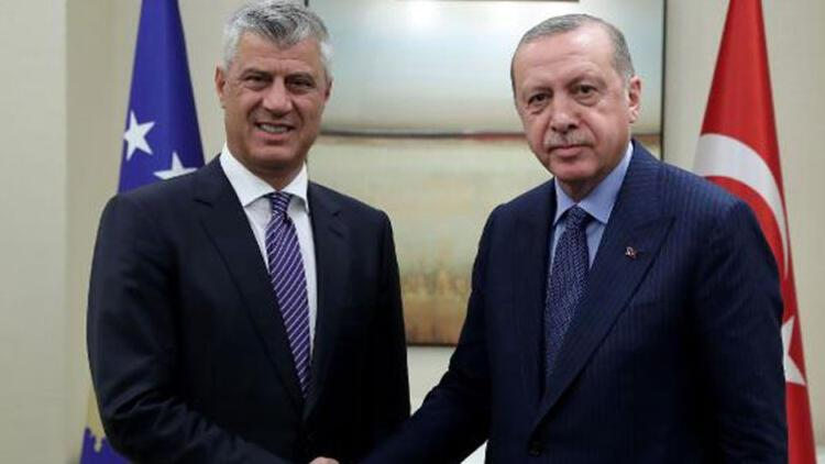 """Kosova Cumhurbaşkanı Thaçi: """"Yardımlarından dolayı Türkiye ve Erdoğan'a minnettarız"""""""