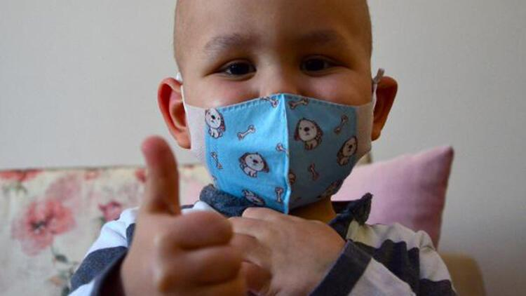 3 yaşındaki Kuzey'e, babasından kök hücre nakli yapılacak