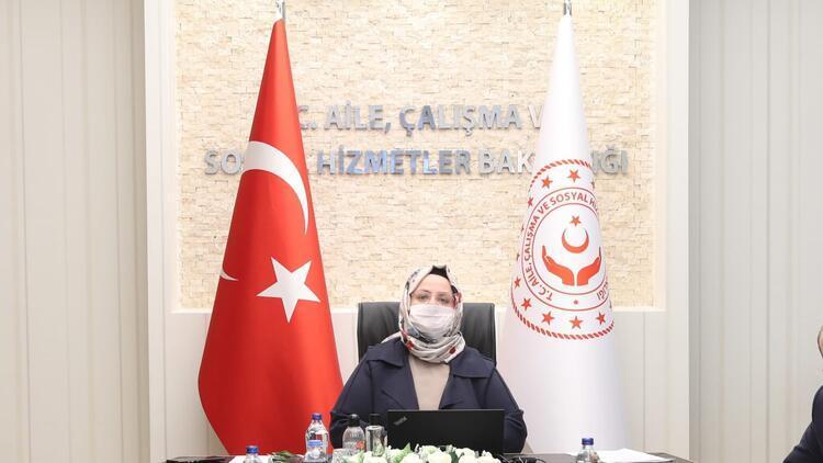 Bakan Selçuk, TOBB ve TÜRMOB başkanlarıyla kısa çalışma ödeneğini görüştü