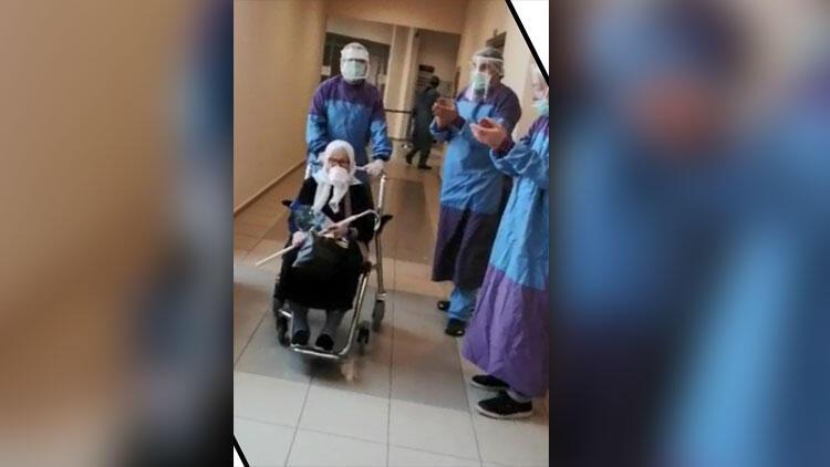75 yaşında koronavirüsü yendi