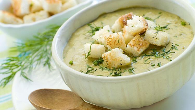 Yoğurtlu kabak çorbası tarifi
