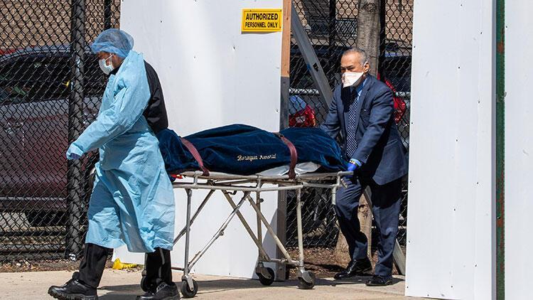 New York'ta Kovid-19 ölümleri 7 bini geçti