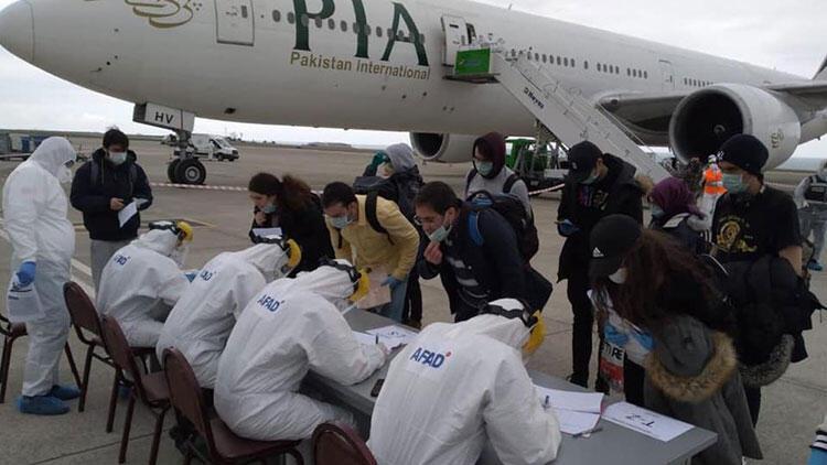 Kanada'dan gelen 203 kişi, Trabzon'da karantinaya alındı