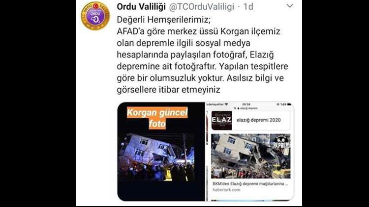 Son dakika haberi: Ordu'da deprem! Sosyal medyada çirkin provokasyon