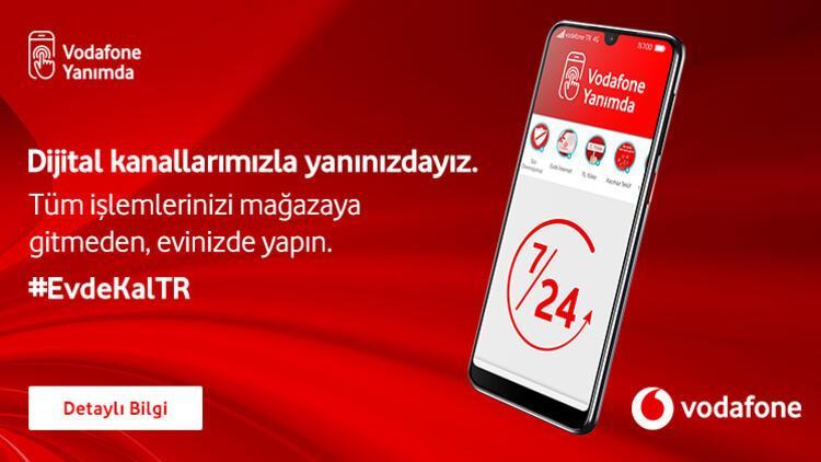 Mağazaya gitmenize gerek yok, 'Vodafone Yanımda'