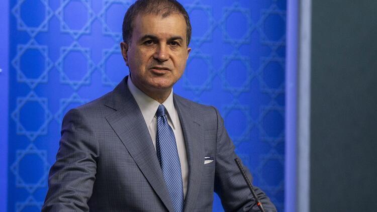 AK Parti Sözcüsü Çelik: İftira atanların kendi zihinlerinde olanı yansıttığını biliyoruz