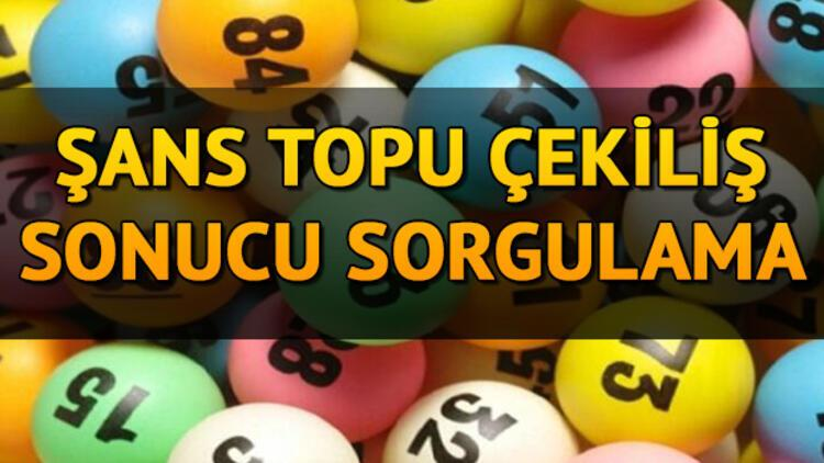 983. hafta Şans Topu sonuçları sorgulama ekranı! 15 Nisan 2020 MPİ Şans Topu çekiliş sonuçları belli oldu