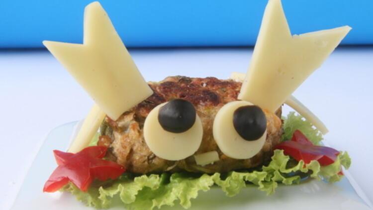 Çocuğunuza yapabileceğiniz sağlıklı bir yiyecek: Sebze burger