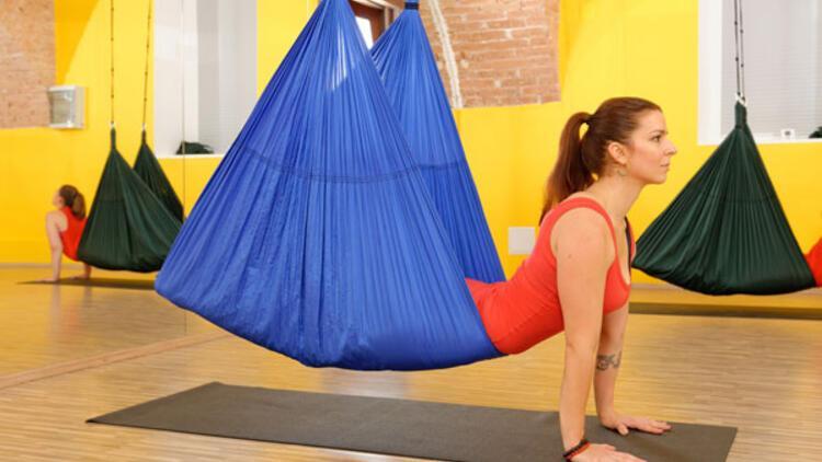 Kozadan yeni çıkan kelebek: Anti-gravity pilates