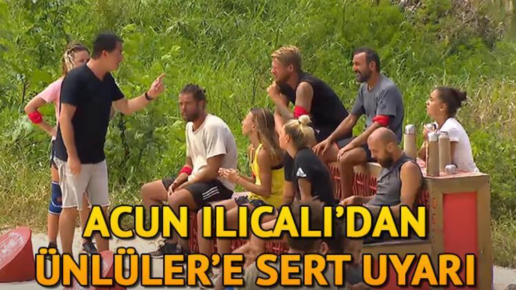 Survivor yeni bölüm fragmanında Acun Ilıcalı'dan sert uyarı! Survivor'da erzak ödülünü kim kazandı?