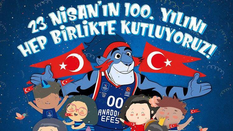 Anadolu Efes, 23 Nisan'ı dijital ortamda kutlayacak