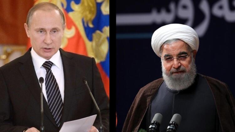 Ruhani ve Putin Suriye'yi görüştü