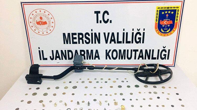 Mersin'de kargo ile tarihi eser kaçakçılığı