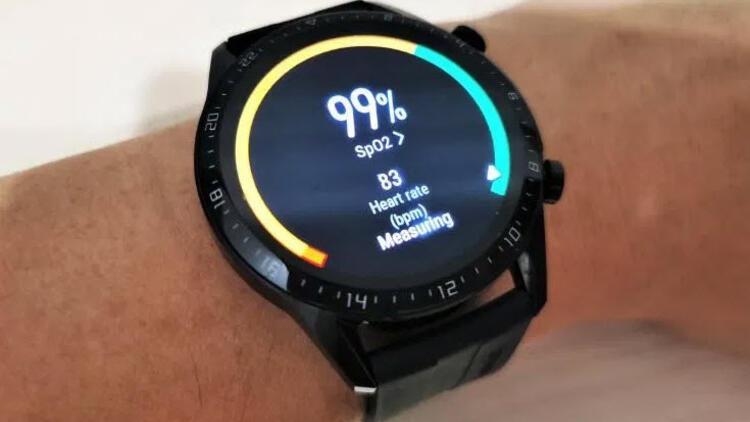 Huawei Watch GT2 kandaki oksijen seviyesini artık ölçebiliyor