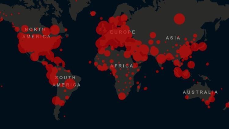 Dünya genelinde corona virüsten iyileşenlerin sayısı 870 bini geçti