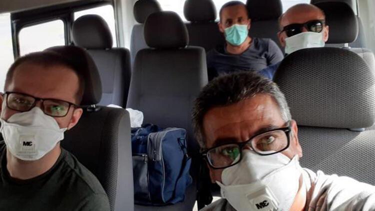 Nijerya'da mahsur kalan 4 işçi, Türkiye'ye getirildi