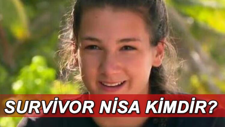 Survivor Nisa Bölükbaşı nereli? Survivor Nisa kimdir, kaç yaşında?