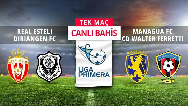 Nikaragua Ligi'nde finalistler belli oluyor! CANLI BAHİS keyfi iddaa'da...