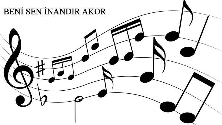 Pinhani - Beni Sen İnandır akor ve gitar ritimleri