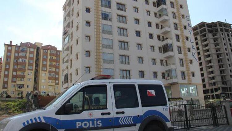 Kayseri'de 8 katlı apartmana 'koronavirüs' karantinası