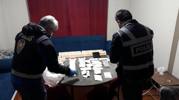 Bolu'da kumar salonuna çevirilen evdekilere para cezası