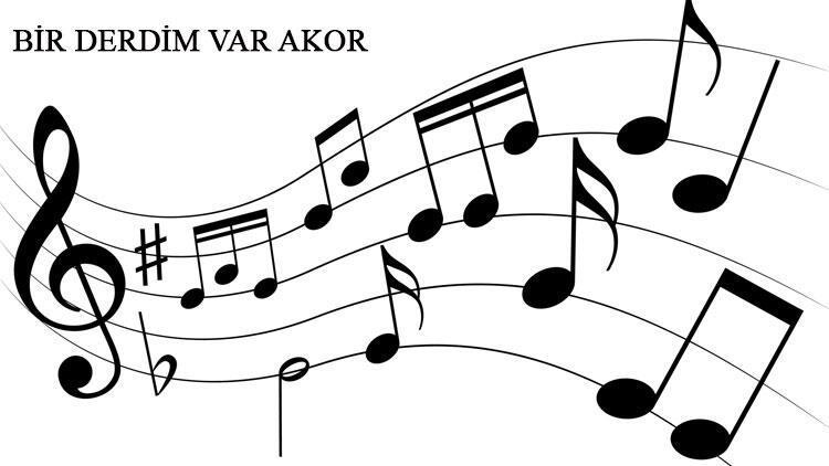 Mor ve Ötesi - Bir Derdim Var akor ve gitar ritimleri