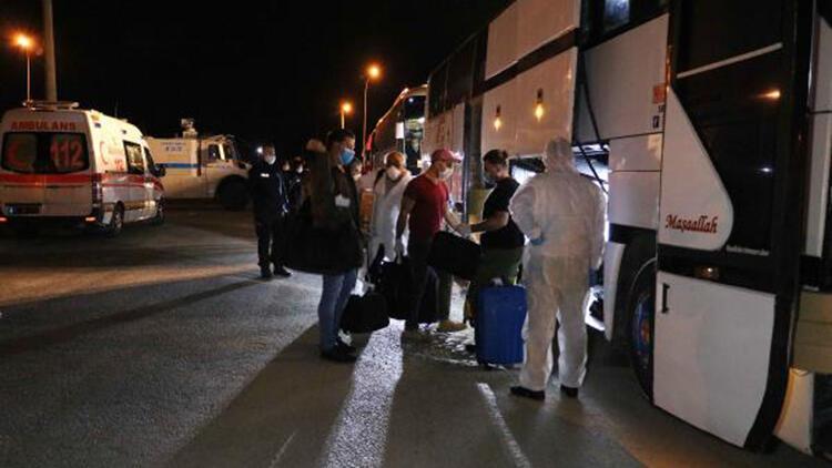 Irak'tan getirilen 136 Türk, Afyonkarahisar'da karantinaya alındı