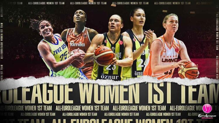 Iagupova ve Zandalasini, Kadınlar Avrupa Ligi'nin en iyi beşinde!