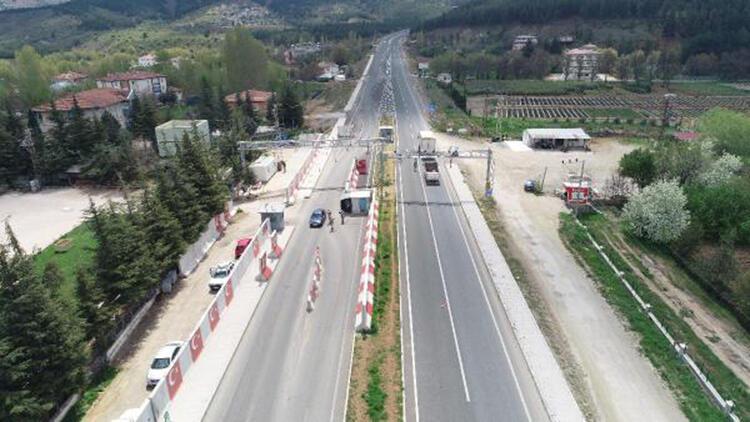 Elazığ Maden'de araç giriş ve çıkışlarına kısıtlama