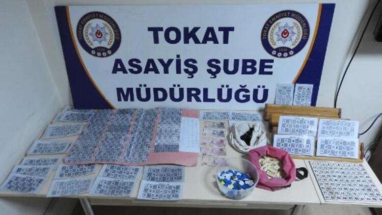 Tokat'ta bağ evine kumar operasyonu