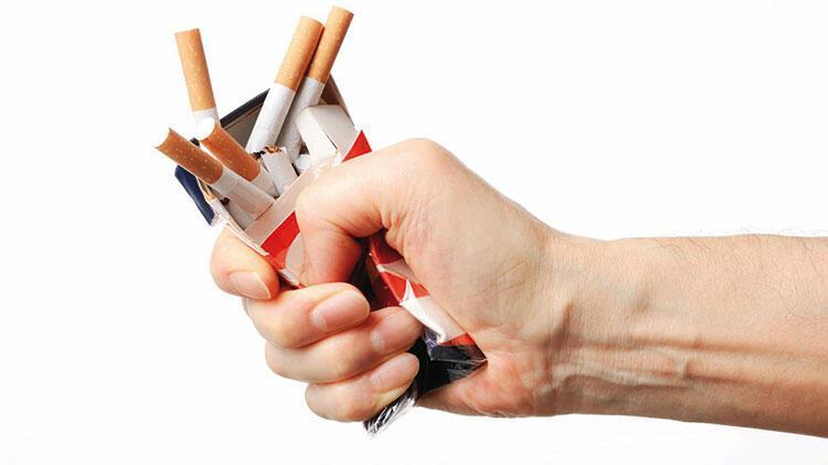 Sigarayı bırakmak kiloya sebep olmaz