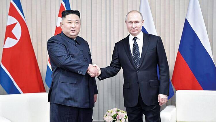 Putin'den Kim'e zafer madalyası