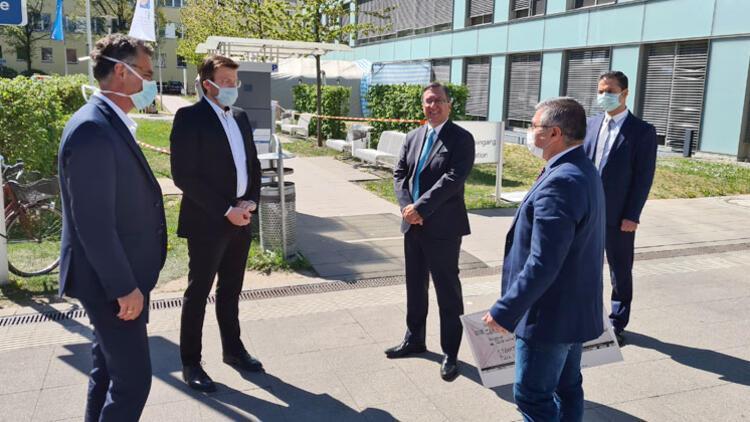 Nürnbergli Türklerden 21 bin 404 Euro hastaneye bağış