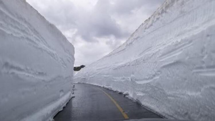 Ordu'da kardan kapalı yollar açılıyor