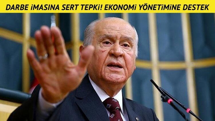 Devlet Bahçeli'den CHP'ye sert çıkış! Ekonomi yönetimine destek