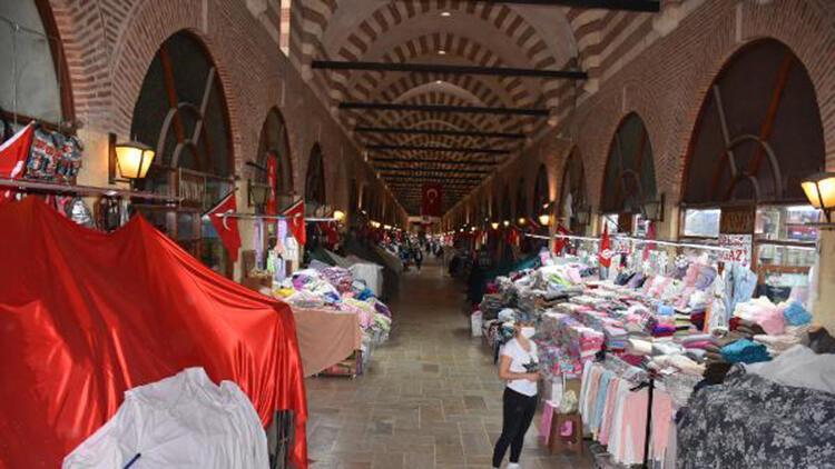 Edirne'de tarihi Alipaşa Çarşısı'nın kapıları açıldı