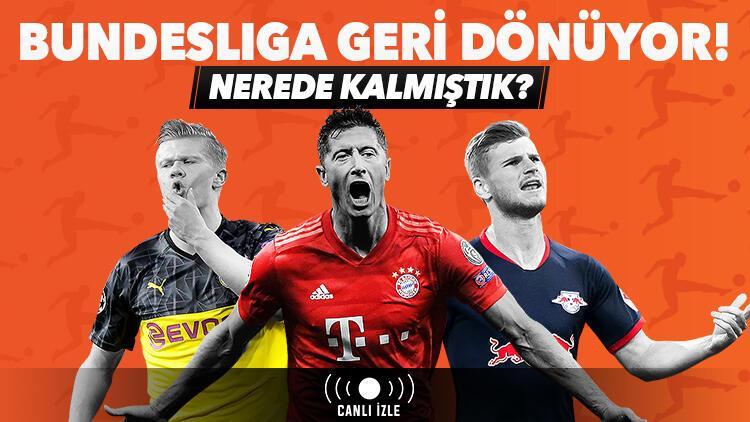 Bundesligada nerede kalmıştık Maçlar iddaa bülteninde ve Misli.comda CANLI...