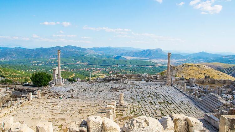 Aşkların ve imparatorların şehri: Sagalassos Antik Kenti