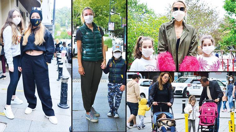 Bebek sokakları şenlendi